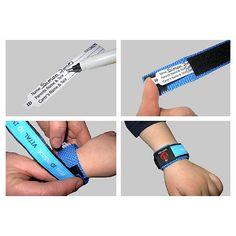 Child ID/ Safety Wristband