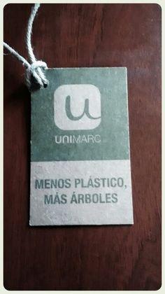 Etiqueta impresa en papel Kraft.