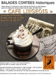 Balade contée ' Café liégeois '
