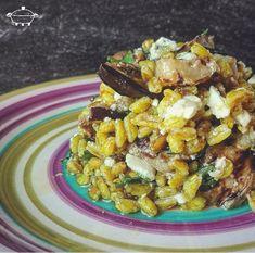 Feta, What You Eat, Orzo, Couscous, Pasta Salad, Curry, Pasti, Veggies, Lunch