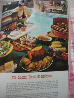 Vintage Barbecue Cookbook 1966 Modern Barbecue by CoolFindsShoppe