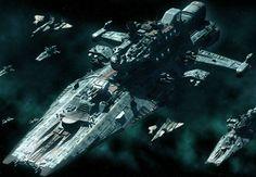 Some Awesome spaceship renders image Spaceship Art, Spaceship Design, Star Wars Ships, Star Trek, Nave Star Wars, Sci Fi Anime, Space Engineers, Starship Concept, Sci Fi Spaceships