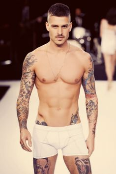 Tattooed and pierced ~ Beautiful Men