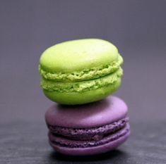 Candy Cane Macarons & Eggnog Macarons Recipes — Dishmaps