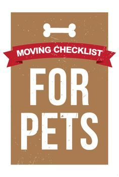 Moving is certainly among the most stressful situations you can find yourself in. With all of the tasks you have to take care of and the schedule you must pay attention to, it can be easy to feel stressed and overwhelmed. Source:adoptapet.com
