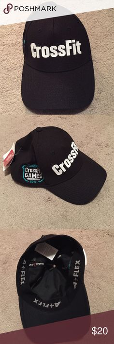 Reebok Crossfit Games hat Fitted black Crossfit Games hat Reebok Accessories Hats