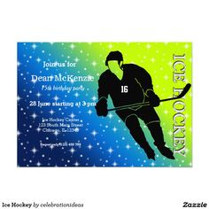 Sold #IceHockey #Invitation #sports #wintersport Available in different products. Check more at www.zazzle.com/celebrationideas