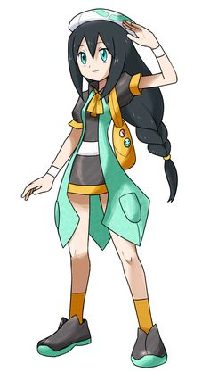 "Welcome to the Oscan region! This is Ciana; Ciana is the female option of your character. Along with the choice of Felix, you can discover all the Pokémon your eyes can see! The name of the ""game"" ..."