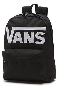 BACKPACK VANS OLD SKOOL II BLACK/WHITE Selección de las mochilas mas trendy en Kaotiko e-Shop