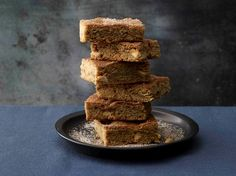 White Chocolate-Cinnamon Blondies - Sheila G's Butter & Chocolate Cookbook