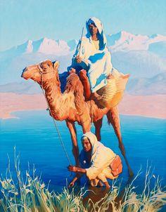 Погонщики+верблюда_81+x+65.5_х.,м._Частное+собрание.jpg (1250×1600)