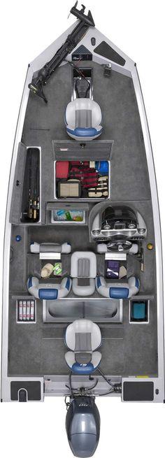 """EAGLE TALON 17 DLX La série EAGLE TALON est livrée avec les équipements les plus demandés comme un coffre à cannes ( max 9""""), vivier à recirculation de 124 litres divisé en deux parties et bien d'autres encore. Une coque large et ultra stable en aluminium tout soudé. Eagle Talon, G3 Boats, Bass Boat, Fishing Boats, Cannes, Comme, Vehicles, Water, Fishing"""