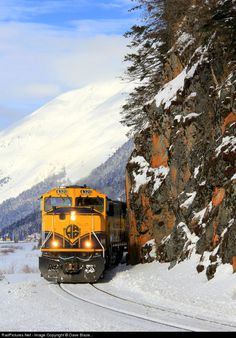 RailPictures.Net Photo: ARR 4320 Alaska Railroad EMD SD70MAC at North of Portage, Alaska by Dave Blaze...