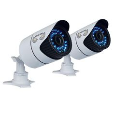 Night Owl Wired 900TVL Hi-Resolution Indoor/Outdoor Security Cameras with 100 ft. Night Vision (2-Pack)
