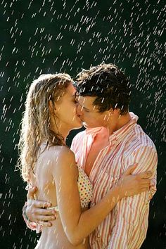 ...kiss in the rain.
