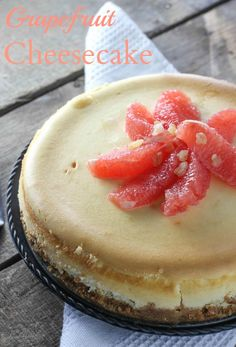 Grapefruit Cheesecake - FoodBabbles.com