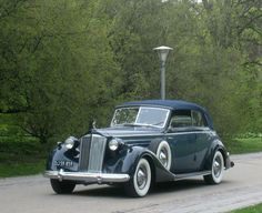 1937 Packard Twelve Convertible Victoria by Glaser Coachworks