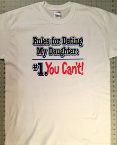 Dadd Dads Against Daughters Hookup T Shirt