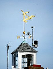 Get A Weathervane Custom Made With A Sailboat On Top Designed After Our Boat Girouette Manche A Air Toit