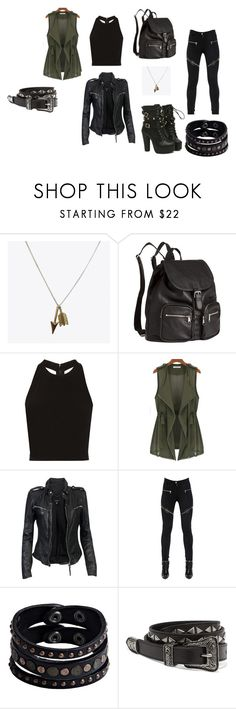 """""""day at the park"""" by catsrulefool ❤ liked on Polyvore featuring H&M, Alice + Olivia, MuuBaa, Givenchy, Replay and Yves Saint Laurent"""