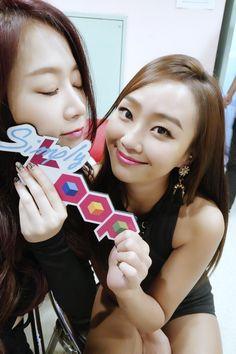 Sistar Soyou & Hyorin Sistar Soyou, My Love, Face, Faces