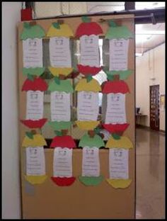 Fall is here and we have started learning about Autumn, Apples, and next week we will talk about Corn. There are so many fun things to lear. First Grade Projects, First Grade Crafts, Diy Craft Projects, Crafts For Kids, Diy Crafts, Secretary's Day, School Themes, School Ideas, Apple Unit