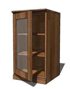Ana White Glass Doors for Base Cabinet Bookcase With Glass Doors, Glass Cabinet Doors, Open Bookcase, Glass Shelves, Low Bookshelves, Ana White, Great Website Design, Simple Bookshelf, Diy Furniture Plans