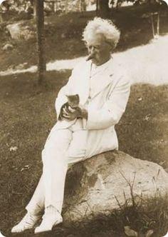 Mark Twain sentía admiración por estos felinos.