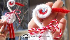 щъркел от плетен шнур