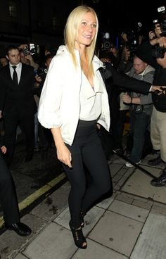Gwyneth Paltrow and Claudia Schiffer at Fashions Night Out