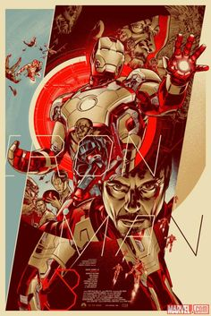 Prepare for Marvel's Iron Man 3 with these awesome posters from Mondo! Which is your favorite?  http://marvel.com/news/story/20570/mondo_suits_up_for_marvels_iron_man_3