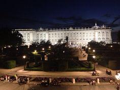 El Palacio Real de Madrid. Fantástico por fuera u por dentro.