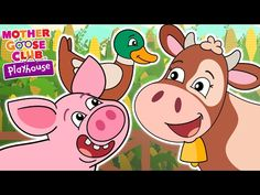Animal Sound Game | Old MacDonald Had a Farm | Mother Goose Club Playhouse Kids Song - YouTube
