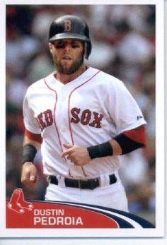 2012 Topps Baseball MLB Sticker #14 Dustin Pedroia Boston Red Sox by Topps Stickers. $2.95. MLB Baseball Collectible Sticker From Topps