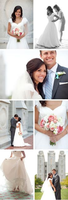 Smudgey: First Anniversary | Jaycob & Ali Bride, Groom, Temple, wedding dress, mother of the bride, flowers, bouquet, wedding shoes, veil