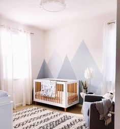 Boho Scandi Home Tour & Interview - Miquela Raiche - The Interior Editor Baby Room Design, Nursery Design, Baby Room Decor, Nursery Room, Girl Nursery, Nursery Decor, Nursery Ideas, Project Nursery, Nature Themed Nursery