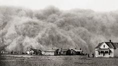 On #ThisDayInHistory a massive wind storm in the Great Plains sent tons of topsoil flying as far as the east coast. Over a two year period, more than two dozen storms forced prairie families to move further west during the thick of the Great Depression.