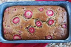 Strawberry Banana Bread // Call Me Fudge