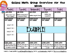 Learning to the Core: Guided Math: Part 1 (Getting Started!)
