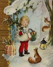 Vintage Christmas, Christmas Cards, Christmas Decorations, Christmas Illustration, Children, Painting, Illustrations, Decorating, Christmas E Cards
