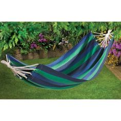 ocean stripe hammock  lean back relax and enjoy the good life in cape cod canvas hammock u0027 is going up for auction at 2pm thurs may      rh   pinterest