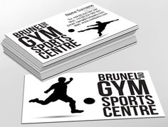 Contemporary business card design, ideal for activity centres. Customise a range of business card templates online for print at www.brunelone.com/premium-business-cards/designs