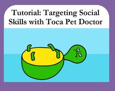 """In this tutorial Ill show you how I use Toca Pet Doctor from @tocaboca (which costs $3.99) for identifying emotions based on facial expressions, inferencing the causes of these emotions, and identifying """"helpful"""" reactions to those situations."""