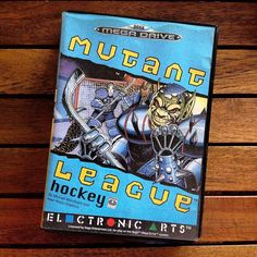 Shared by stonyo_ #segagenesis #microhobbit (o) http://ift.tt/2pjbS1I League Hockey for Megadrive!! #セガ #メガドライブ #セガメガドライブ #MutantLeagueHockey #IceHockey #NHL #Mutant #MutantProductions #Monsters #ElectronicArts #1994 #SEGA #MegaDrive #SegaMegadrive #Genesis #SegaGenesis #FourPlayers #Retrocollective #Retrocollectiveus #Retrogaming #RetroGames #RetroGamer #SegaCollection #SegaRetro #ServiceGames #Instagame