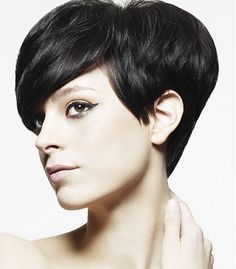 tapered sides women hair cuts | Flirty Short Hair Styles