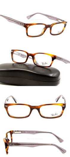 156d3ee69ee Eyeglass Frames  Ray-Ban Rb 5150 5607 Eyeglasses Optical Frames Glasses  Tortoise ~ Grey