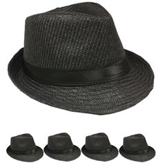 0f7797165830b 52 Best Straw Fedora Hats with your imprinted Logo or Text images ...