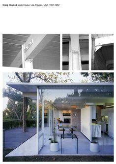 Zack House, Brentwood (1953) Craig Ellwood architect