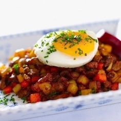 Swedish Hash - Pytt i Panna - is a dish that deserves to be more than just left over food. swedish food