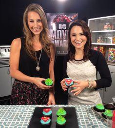 Rosanna Pansino baking with MTV for the Movie Awards :)